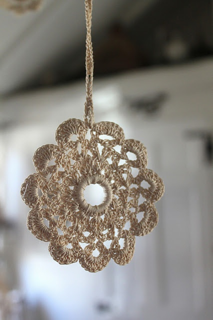 Crocheted-ornament