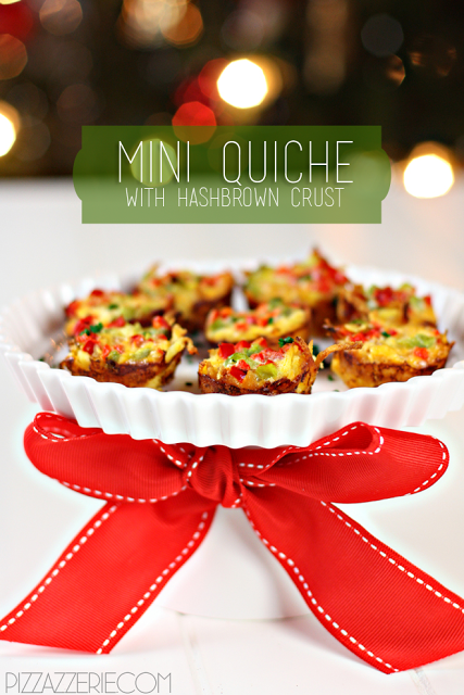 mini hashbrown quiche