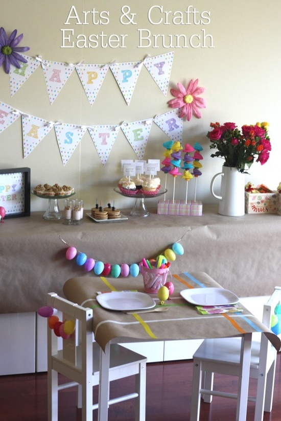 arts-crafts-easter-brunch-table