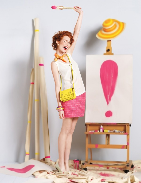 kate spade outfit look 5 spring 2011