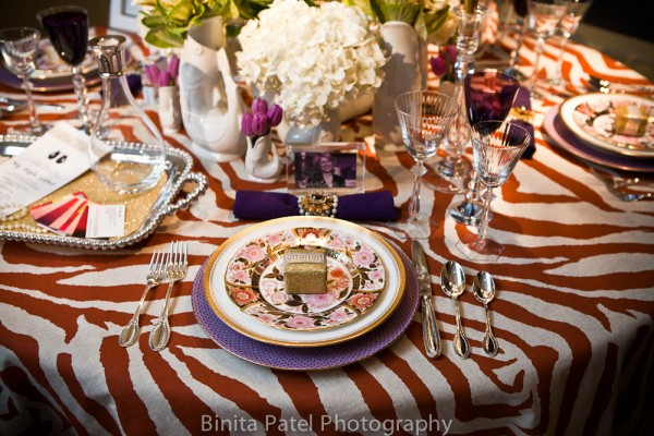 table setting_animal print_gold_ErinGates_SCL_BinitaPatel-7_via elements of style blog